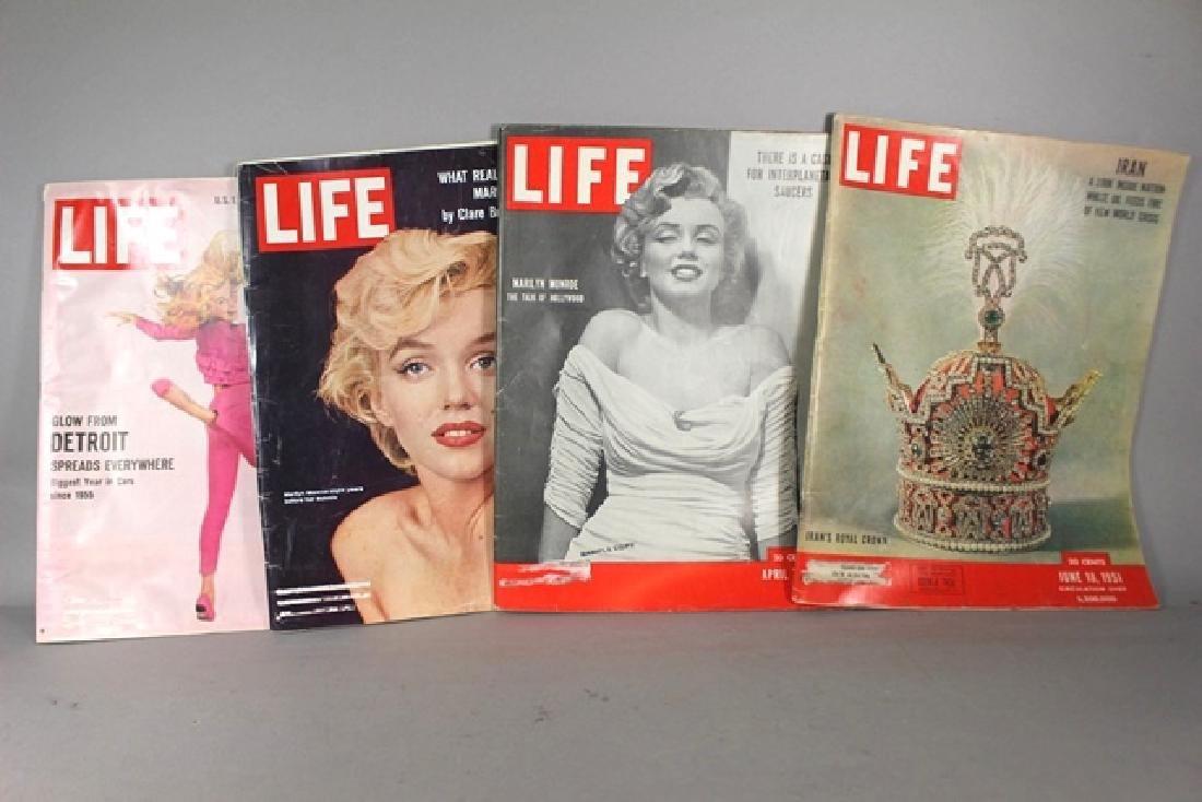 4 Life Magazines Marylin Monroe - 3