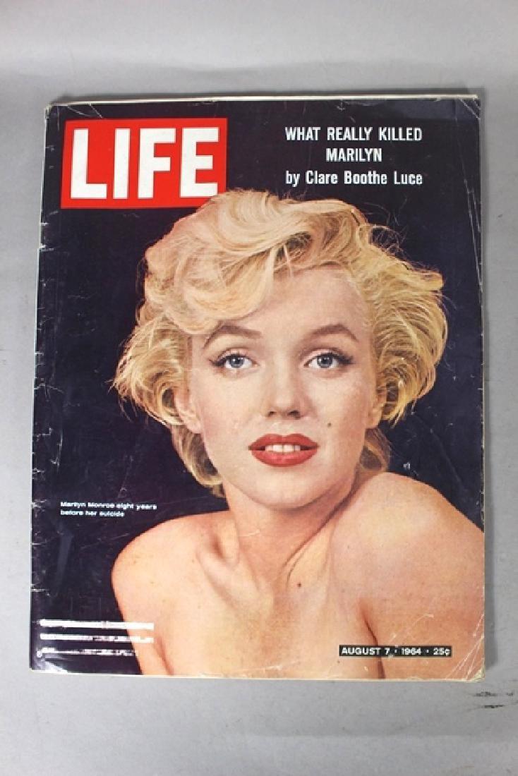 4 Life Magazines Marylin Monroe - 5