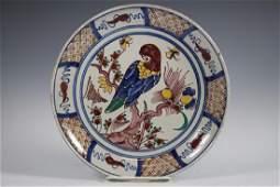 17th C. RARE Delft Dutch Plate