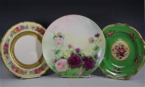 Limoges French Hand Painted Plates
