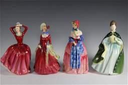 Four Royal Doulton Figurines