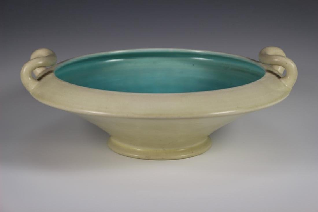 ROOKWOOD Pottery Low Bowl
