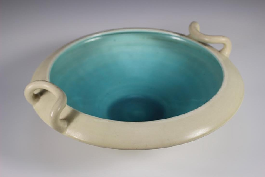 ROOKWOOD Pottery Low Bowl - 4