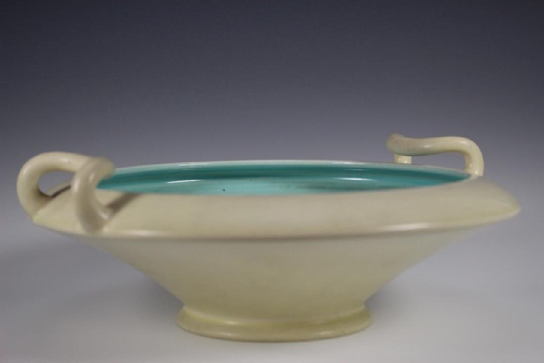 ROOKWOOD Pottery Low Bowl - 5