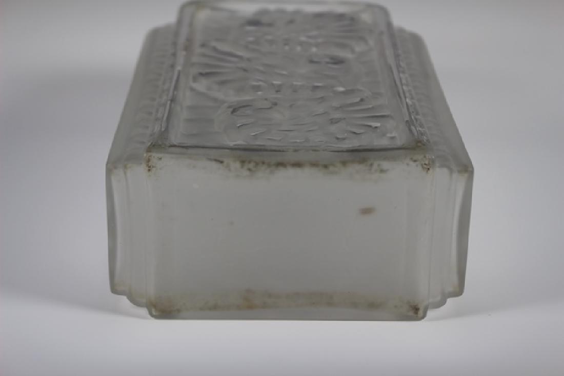French Art Deco Glass Vase - 7