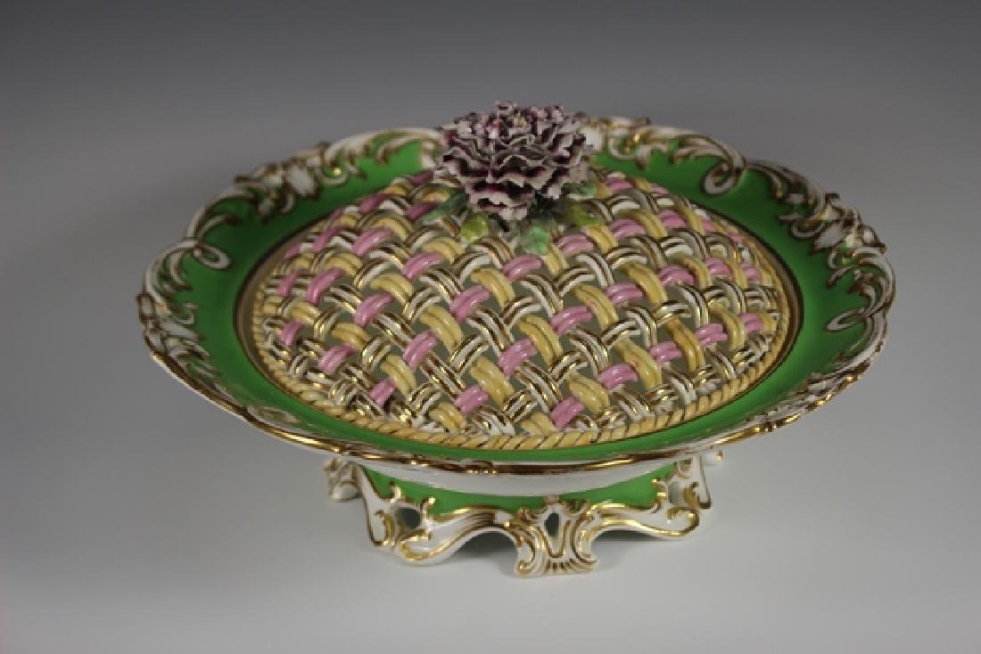 19th Century English Lidded Vegetable Bowl - 2