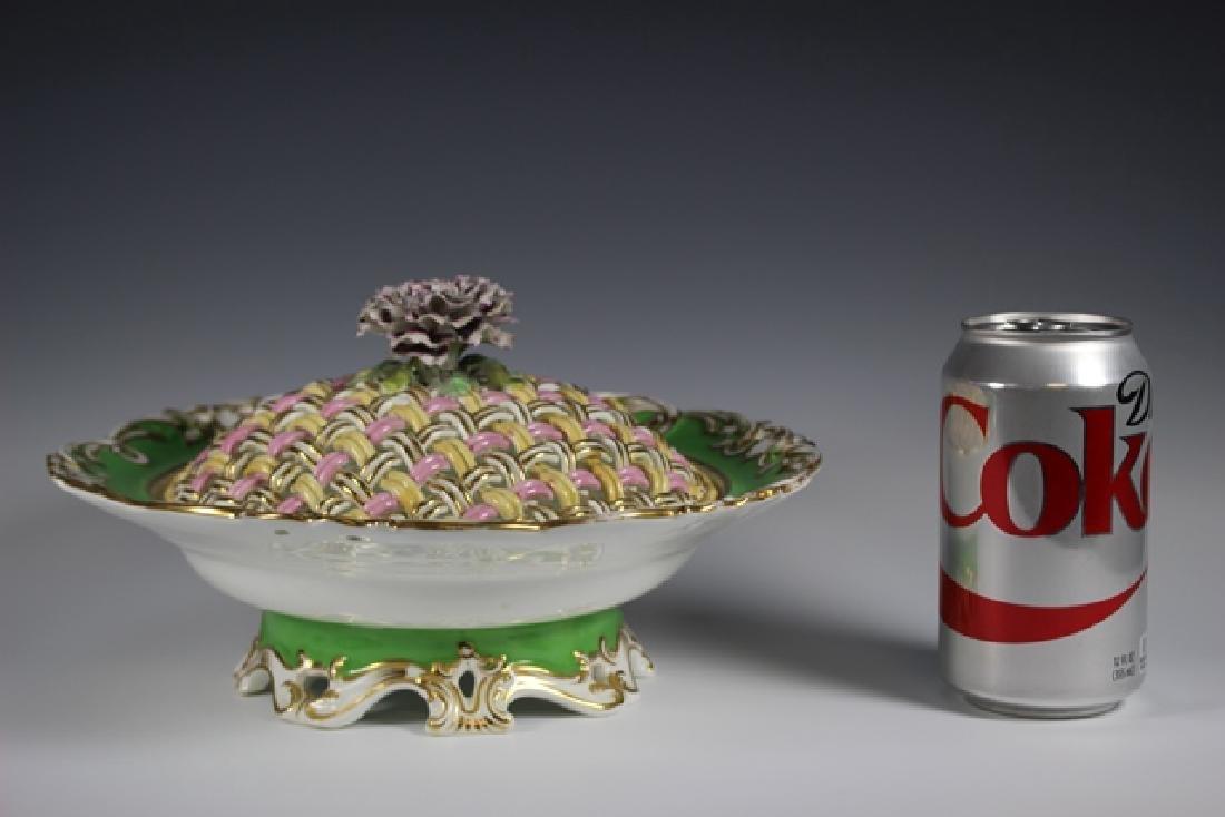 19th Century English Lidded Vegetable Bowl - 3