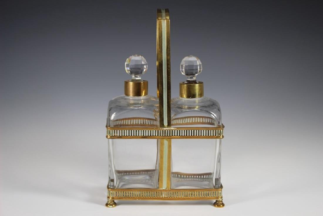 FINE Set Of 19th C. French Decanter