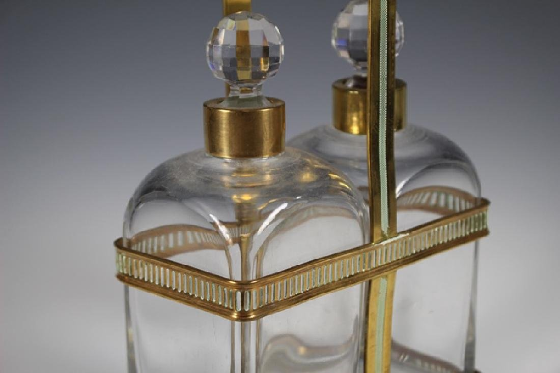 FINE Set Of 19th C. French Decanter - 3