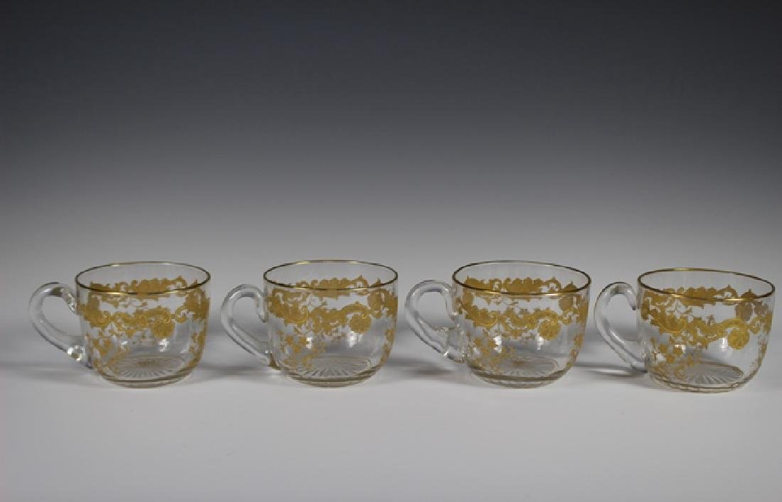 Five Piece Moser Pitcher And Glass Set - 2