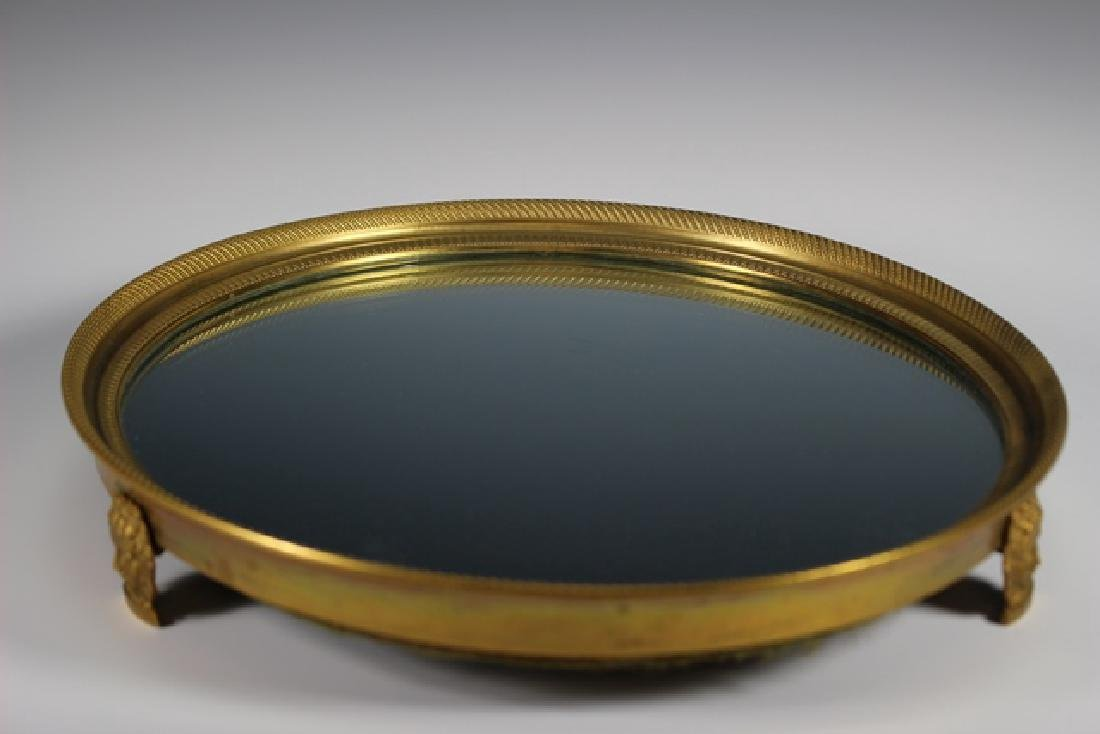 French Empire Plateau Mirror - 7