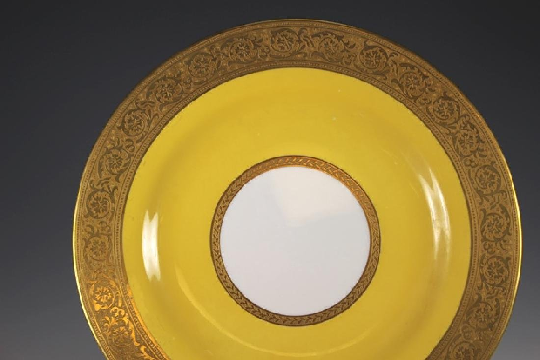 Set Of Twelve French Plates, Ovington's New York - 3