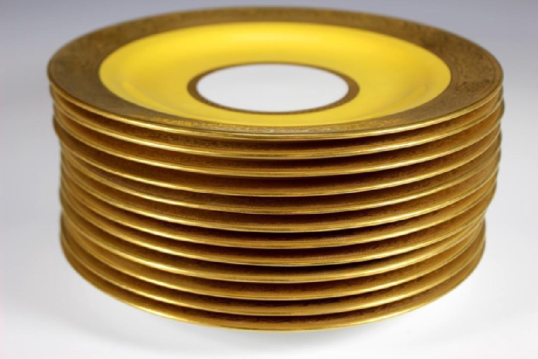 Set Of Twelve French Plates, Ovington's New York - 4