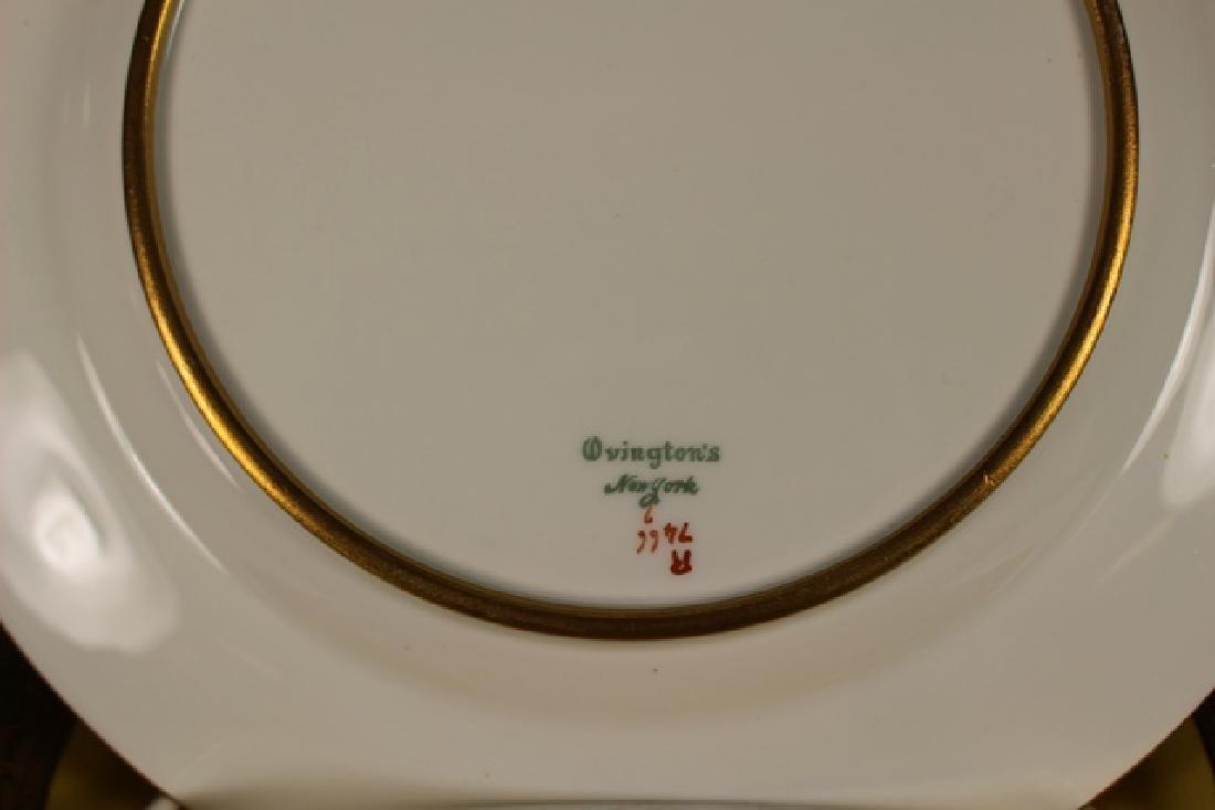 Set Of Twelve French Plates, Ovington's New York - 6