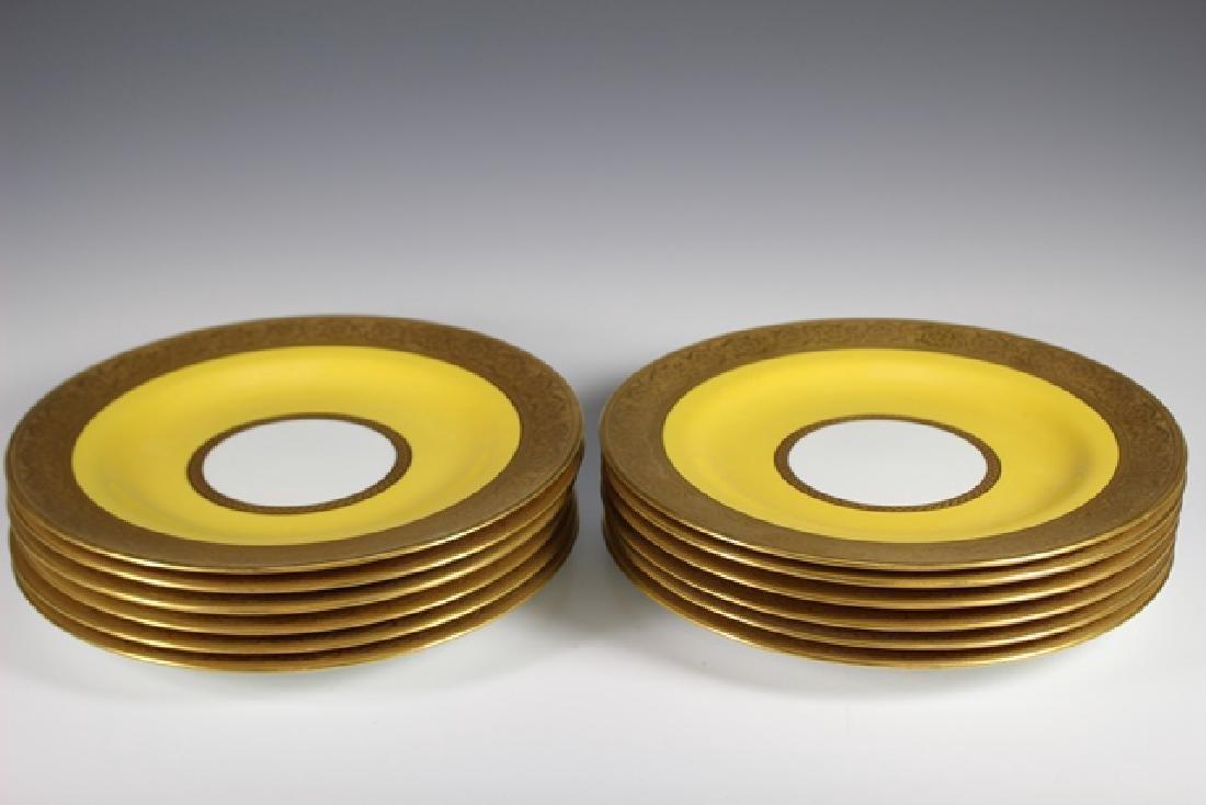 Set Of Twelve French Plates, Ovington's New York - 7