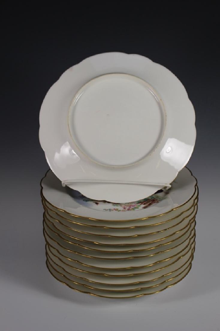 Set Of Twelve 19th. Century English Plates - 3