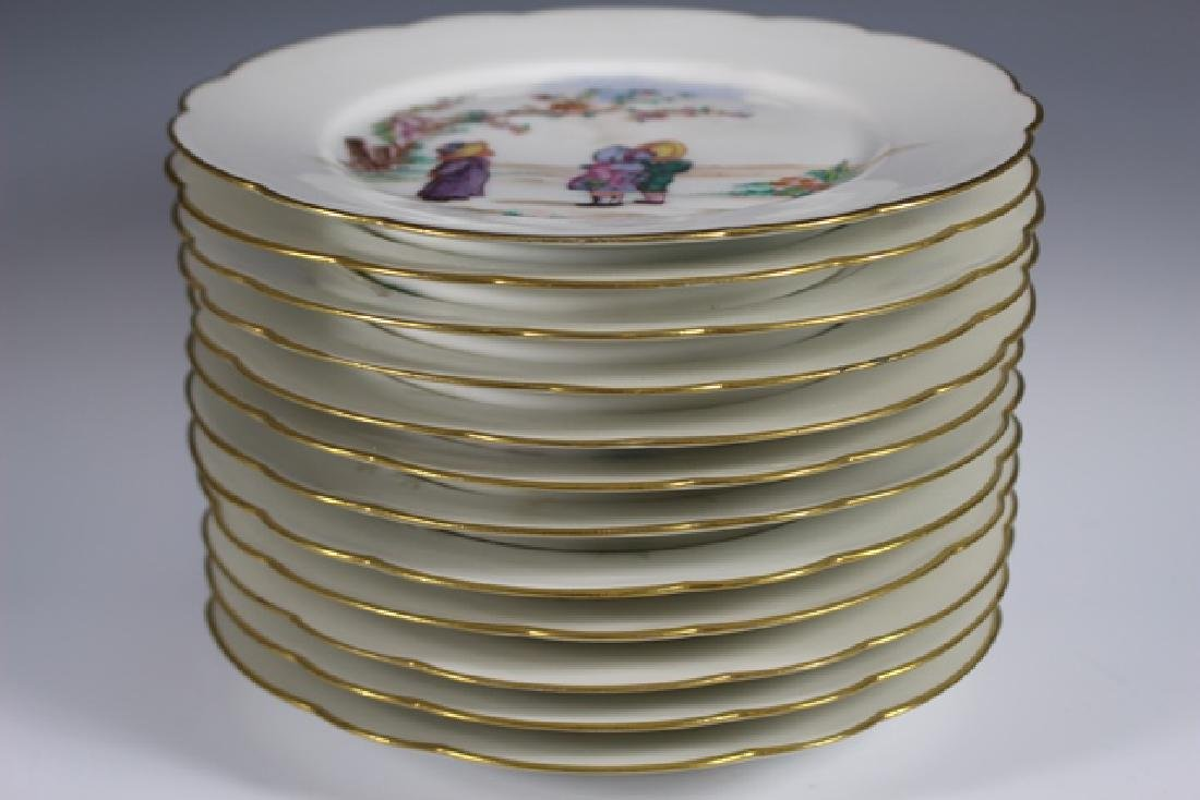 Set Of Twelve 19th. Century English Plates - 4