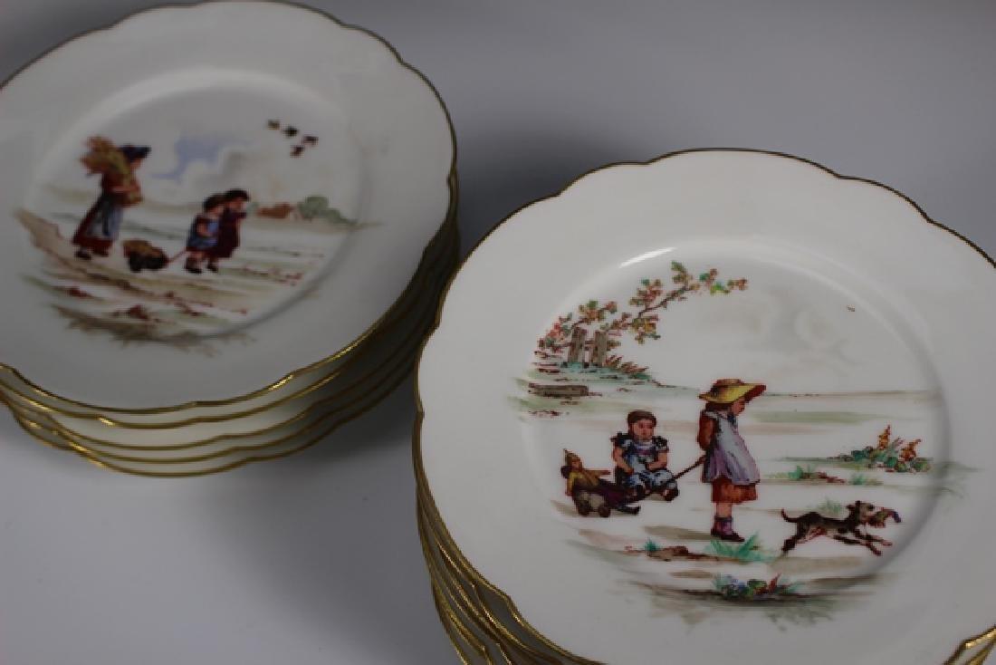 Set Of Twelve 19th. Century English Plates - 8