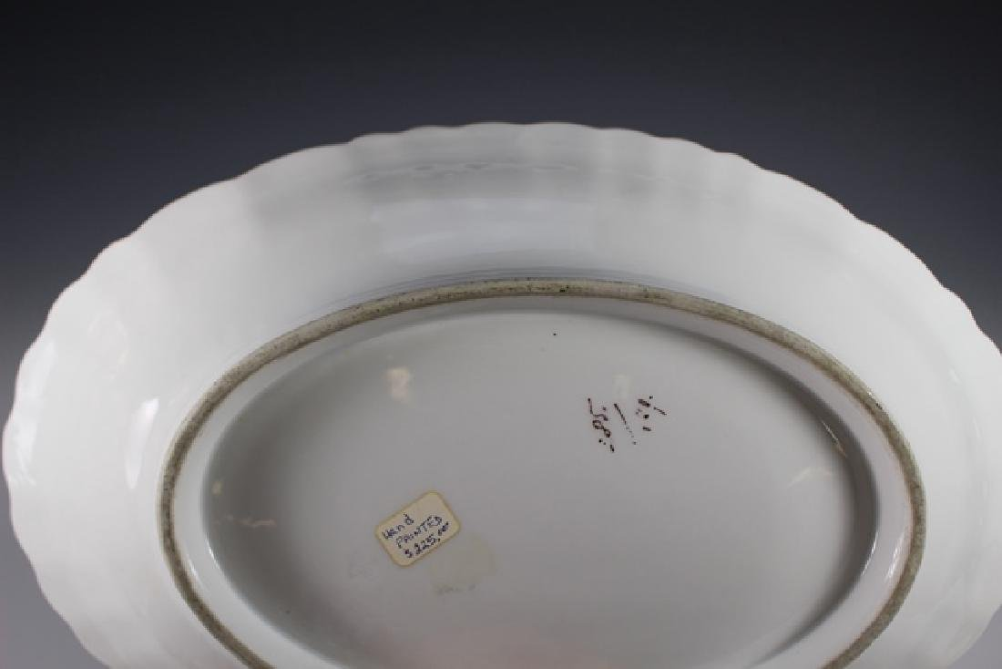 19th Century English Hand Painted Serving Bowl - 8