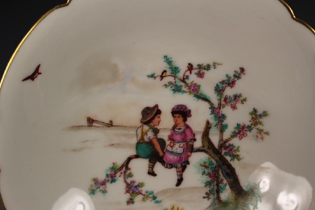 Soup Bowls Depicting Scenes Of Children Playing - 2