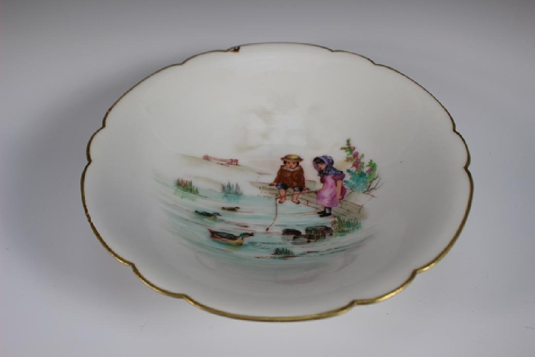 Soup Bowls Depicting Scenes Of Children Playing - 6