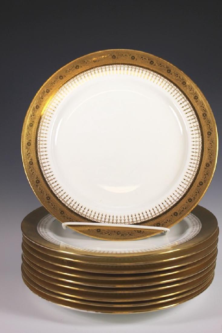 Set Of Ten Mintons Dinner Plates