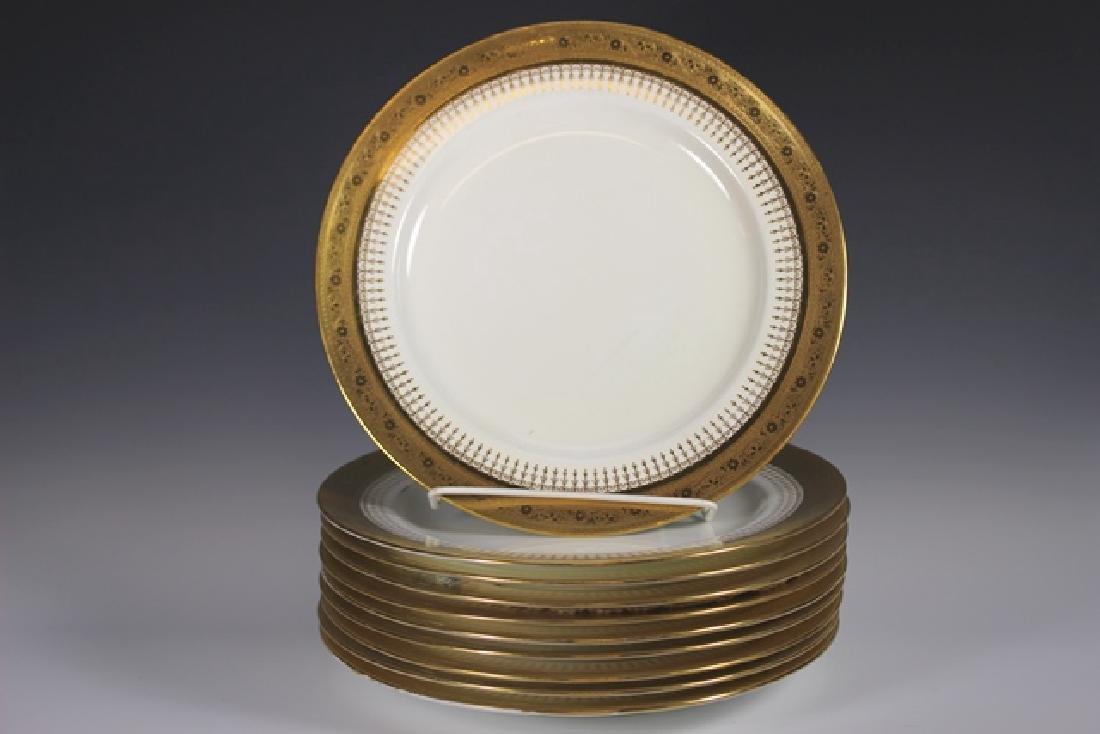 Set Of Ten Mintons Dinner Plates - 2