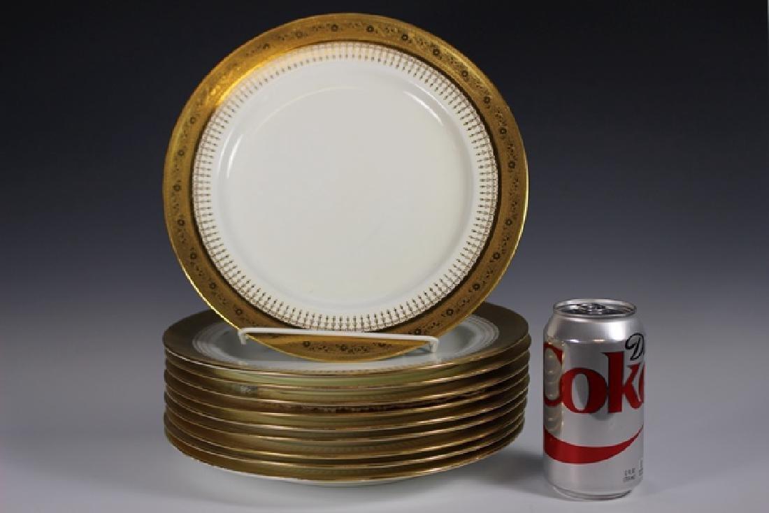 Set Of Ten Mintons Dinner Plates - 3