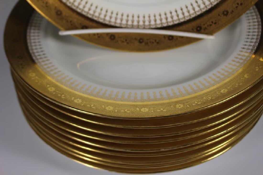 Set Of Ten Mintons Dinner Plates - 4