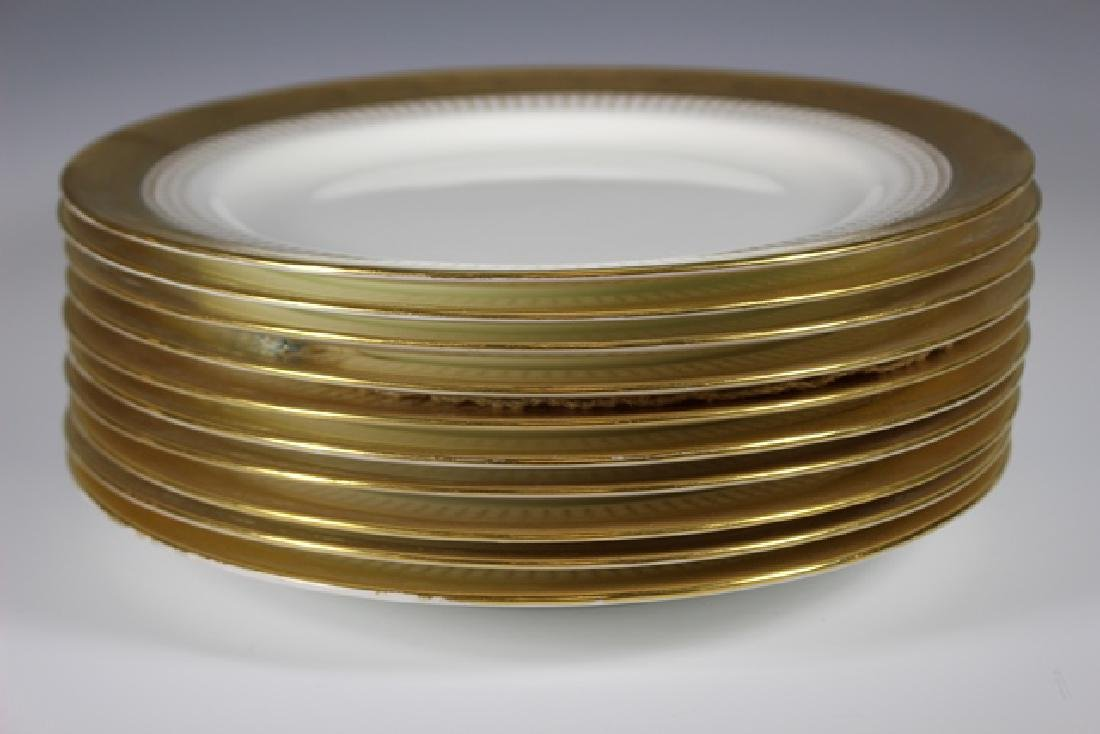 Set Of Ten Mintons Dinner Plates - 8