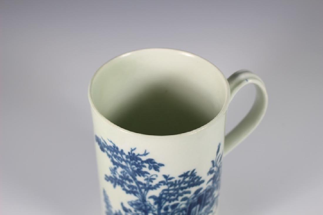 Dr. Wall Period Worcester  English Porcelain Mug - 4