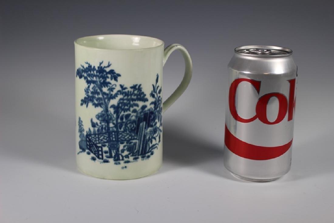 Dr. Wall Period Worcester  English Porcelain Mug - 5