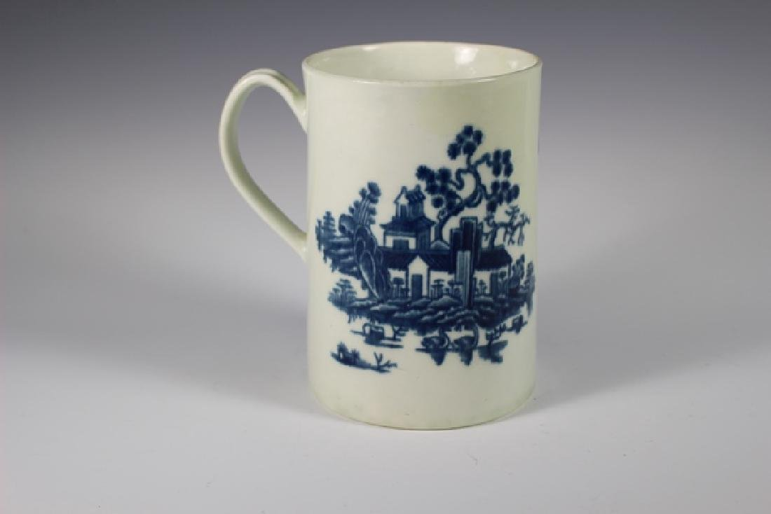 Dr. Wall Period Worcester  English Porcelain Mug - 6