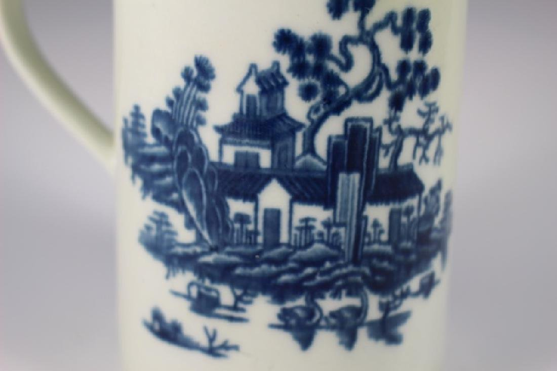 Dr. Wall Period Worcester  English Porcelain Mug - 7
