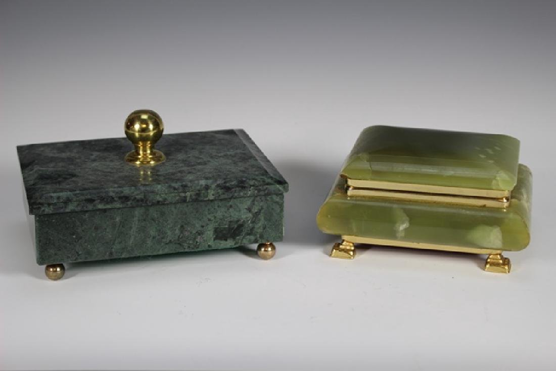 Two 20th Century Dresser Boxes