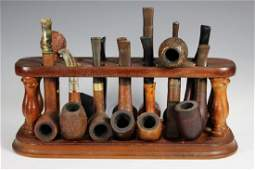13 Antique Smoking Pipes