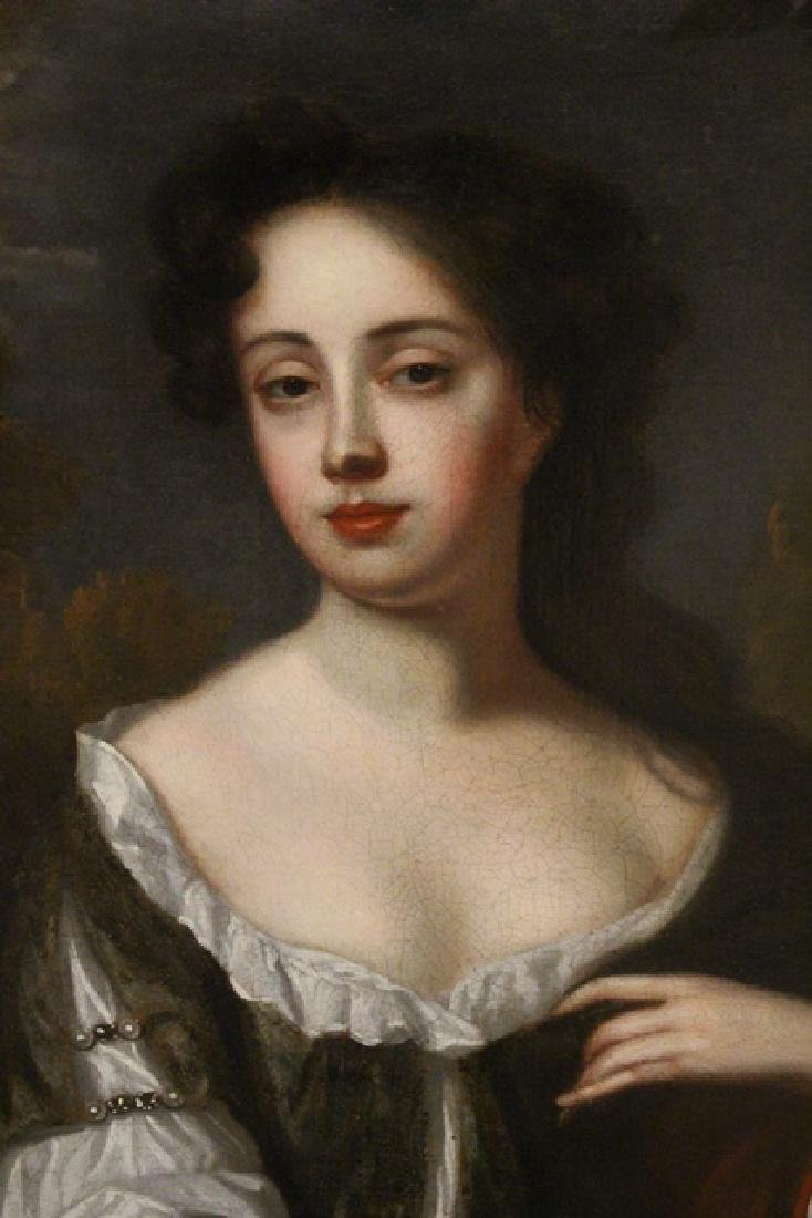 "18th Century Oil Painting ""Mrs. Jane Dearing"" - 3"