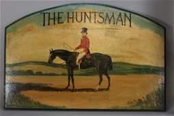 "20th century English Hunt Scene ""The Huntsman"""