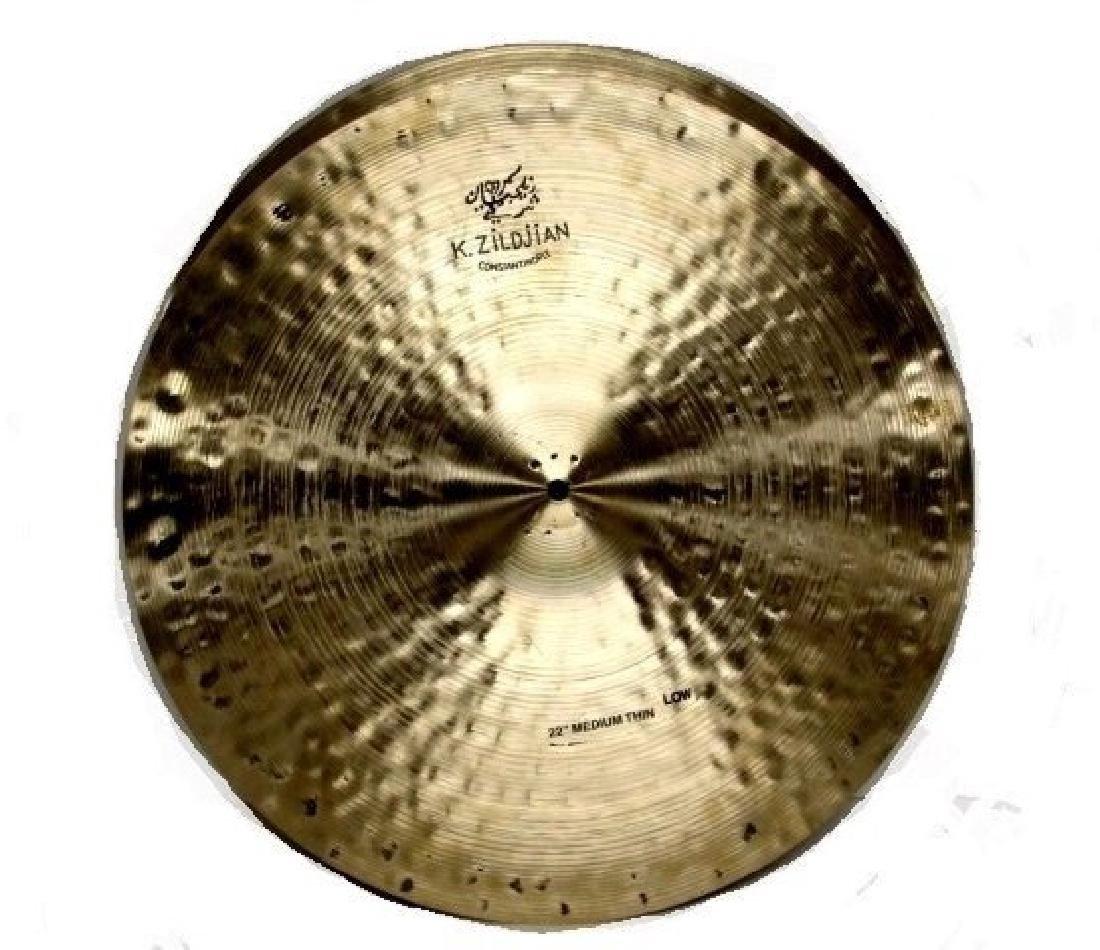 K. Zildjian Set Of 2 Constantinople Cymbal Signed