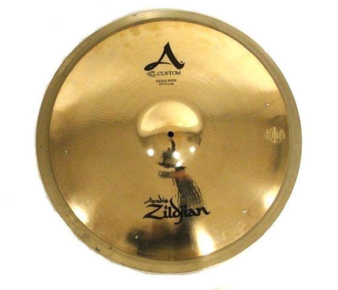 Two Zildjian Brass Cymbals 22'' Swiss Knocker
