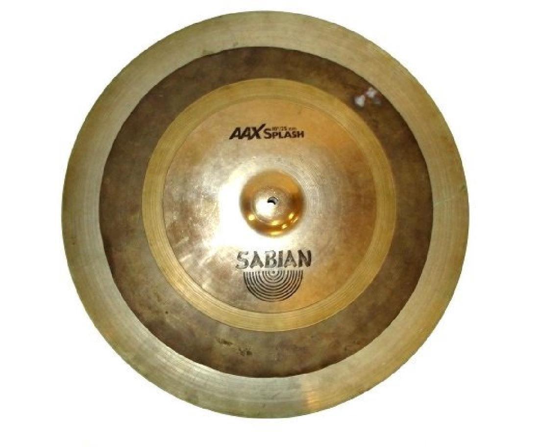 Four Brass Drum Cymbals