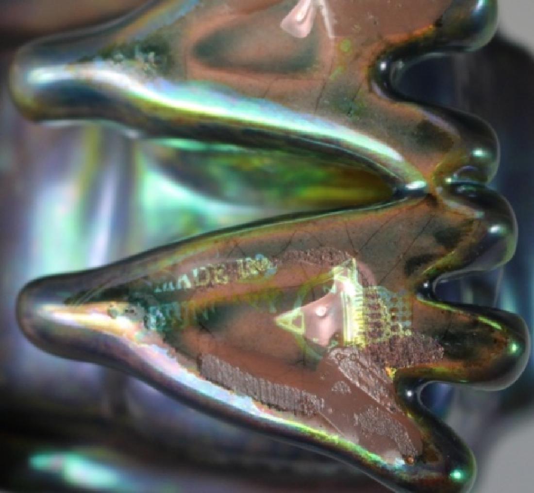 Two (2) ZSOLNAY EOSIN  Iridescent Animals - 5