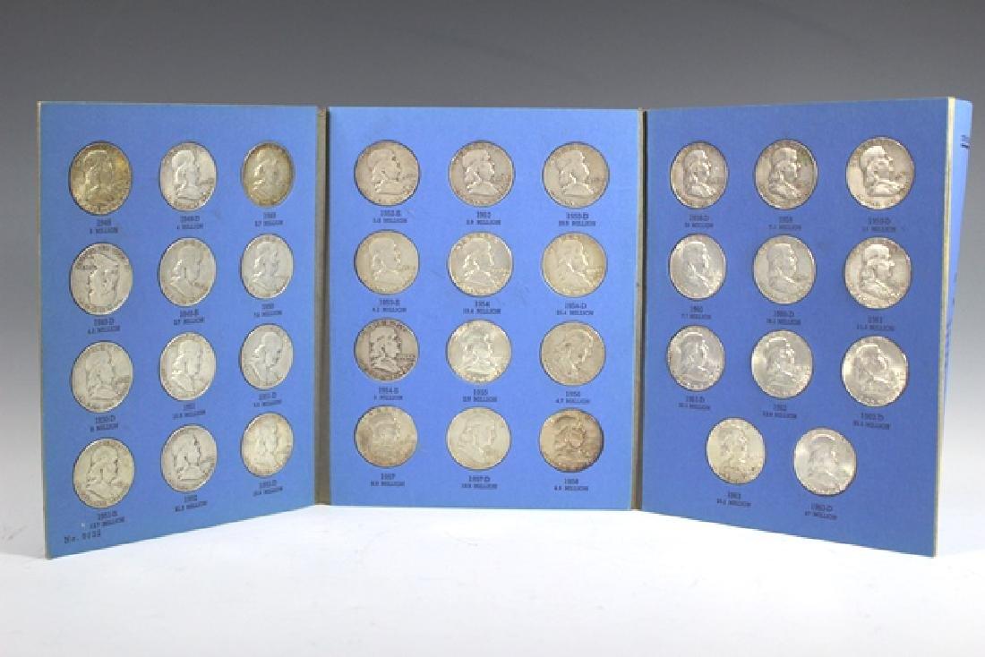 US Silver Franklin & Kennedy Half Dollars - 3