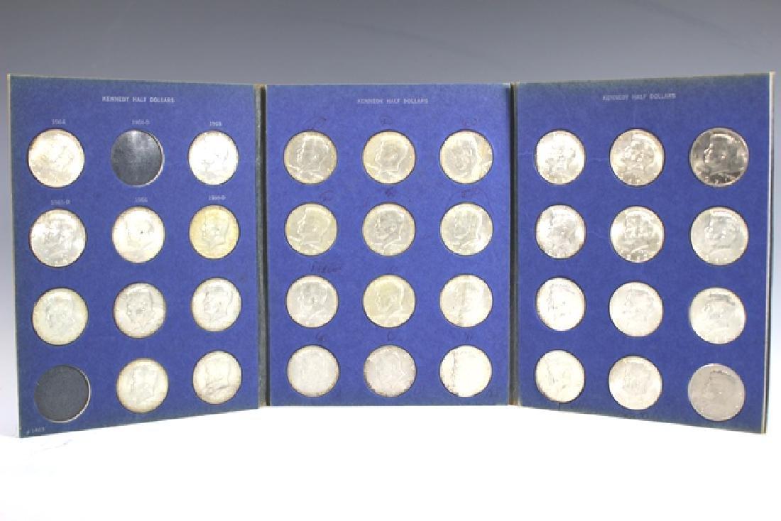 US Silver Franklin & Kennedy Half Dollars - 4