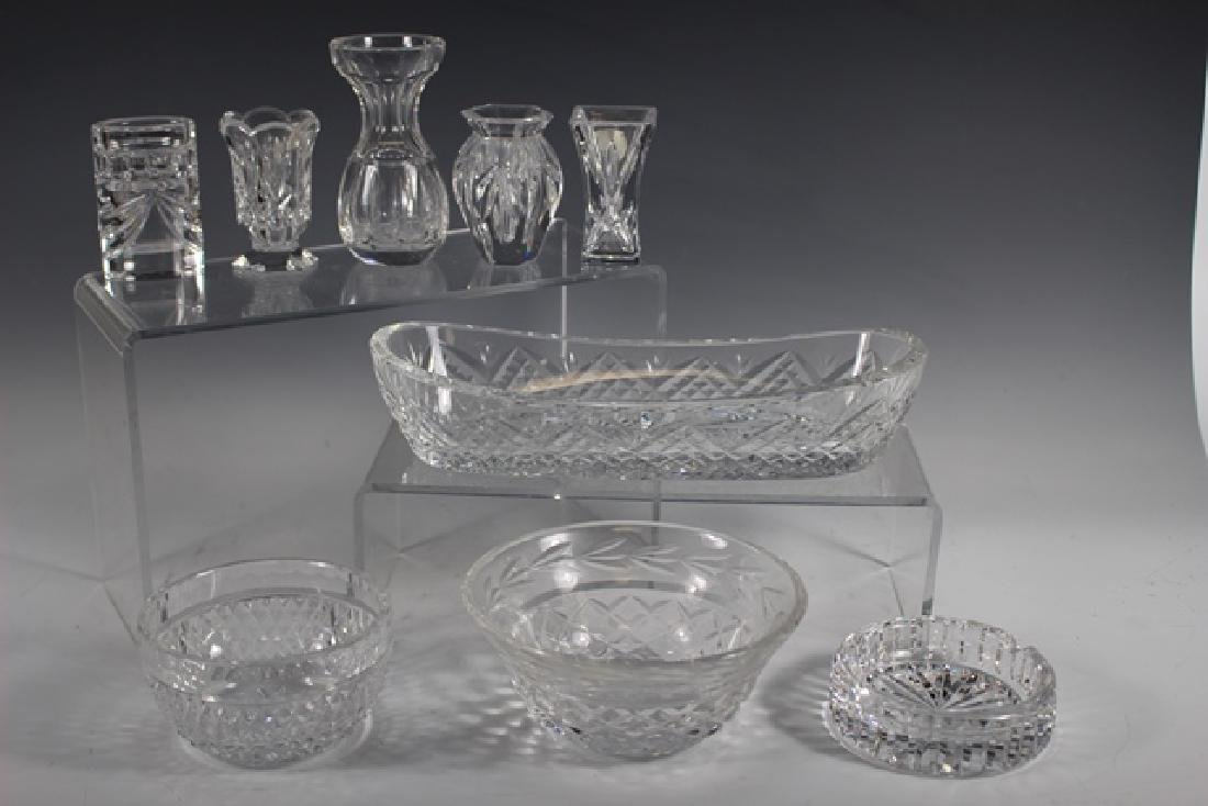 Nine (9) Waterford Crystal Collection