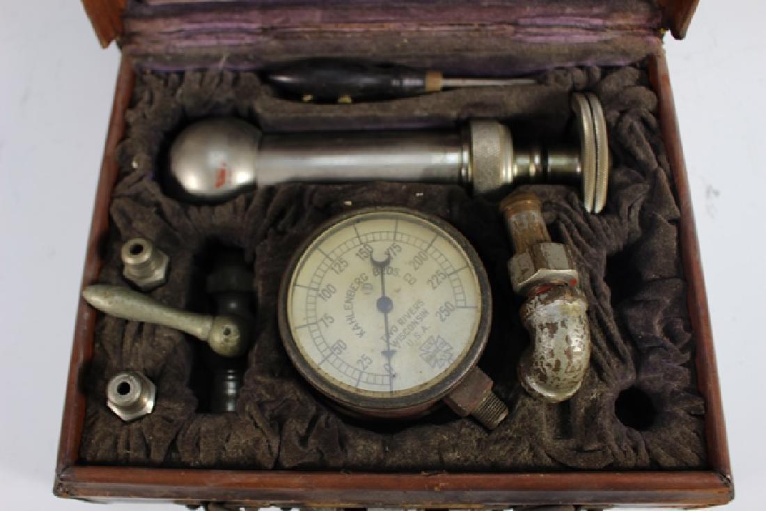 Kahlenberg Bros. Co. Steampunk Pressure Gauge in Case - 3