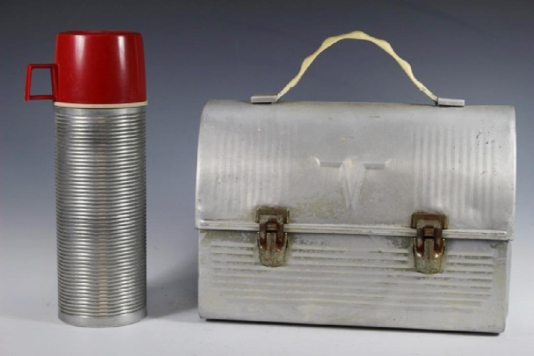 American Aluminum THERMOS Miners Lunch Pal