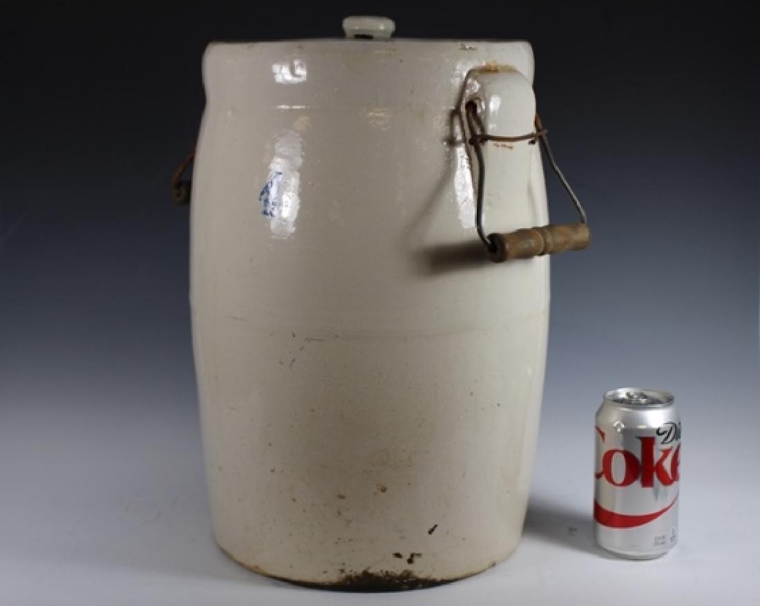 4 Gallon Stoneware Butter Churn Crock - 5