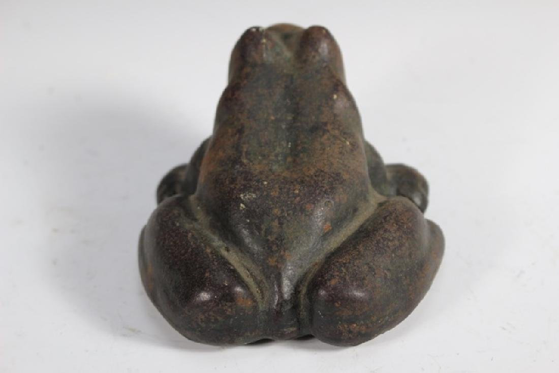 Cast Iron Frog Door Stop - 3