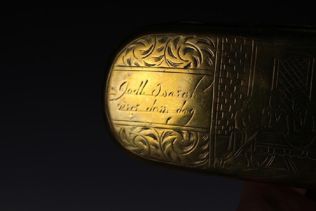 Two 19th Century DUTCH Tobacco Boxes - 4